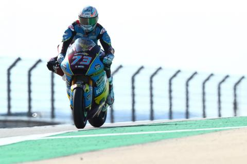 Moto2 Aragon - Warm-up Results