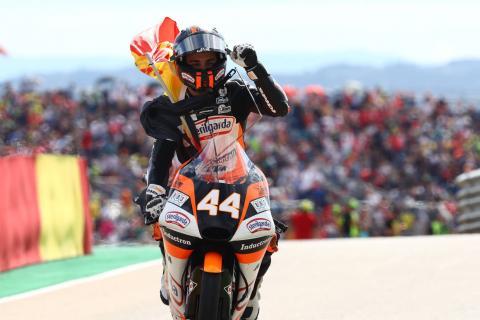 Moto3 Aragon: Canet wins after Motorland Masterclass