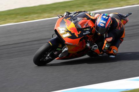 Moto2 Phillip Island: Binder leads KTM double over the line
