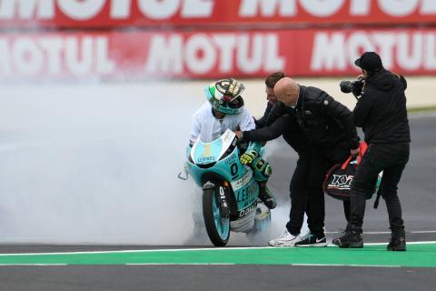 Moto3 Phillip Island: Victory sees Dalla Porta take title in style