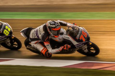 Arena menangkis McPhee untuk kemenangan Moto3 Qatar