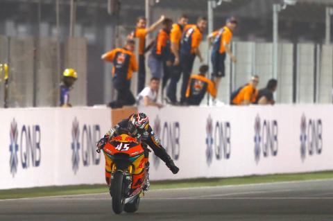 Nagashima jelas untuk kemenangan perdana emosional Moto2