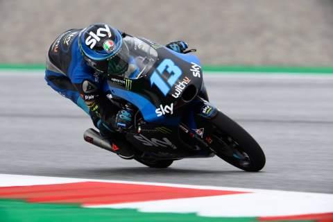Moto3 Styria: Vietti berusaha keras untuk meraih kemenangan perdananya