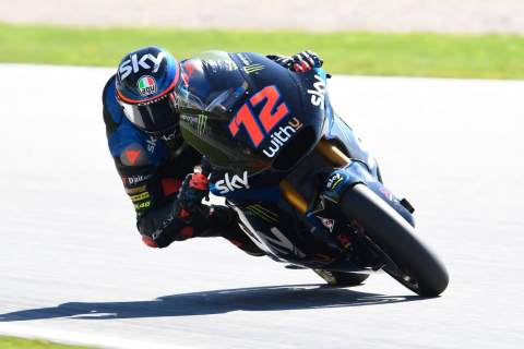 Moto2 Styria: Bezzecchi mengklaim kemenangan pertama setelah penurunan pangkat Martin