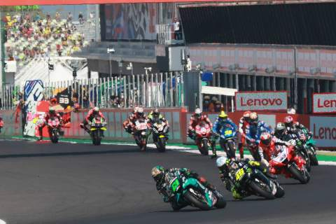 23,000 fans per day allowed for Misano MotoGP round