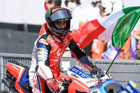Reaksi Bagnaia terhadap kemunduran besar memengaruhi keputusan Pabrik Ducati