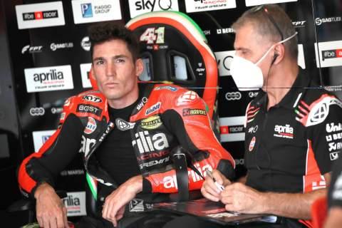 Aleix Espargaro , Emilia Romagna MotoGP. 19 September 2020
