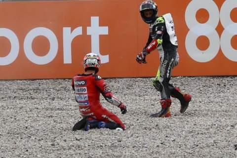 Statistik: Johann Zarco tetap berada di puncak daftar jatuh MotoGP