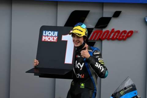 Celestino Vietti, Moto3 race, French MotoGP, 11 October 2020