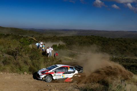 Rally Argentina - Classification after SS12