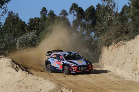 Rally de Portugal - Classification after SS9