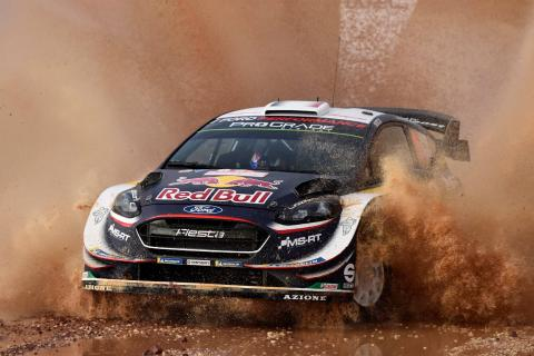Rally Italia Sardegna - Classification after SS12