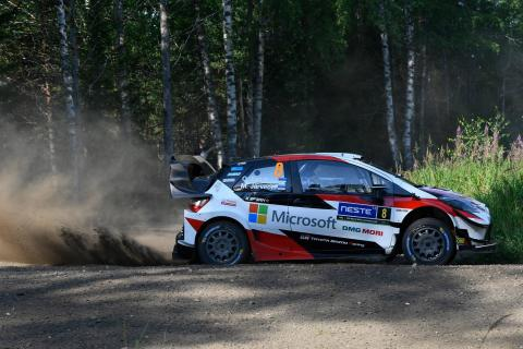 Rally Finland - Classification after SS19