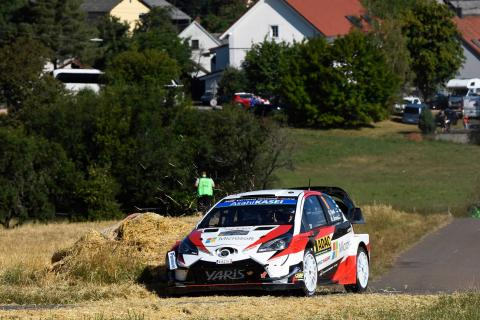 Tanak pulls clear from Ogier
