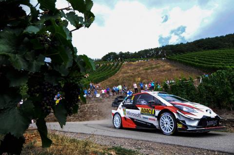 Rallye Deutschland - Classification after SS15