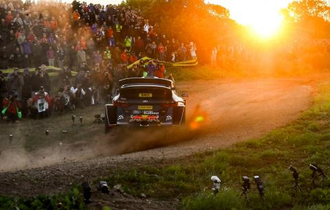 RallyRACC Catalunya - Classification after SS1