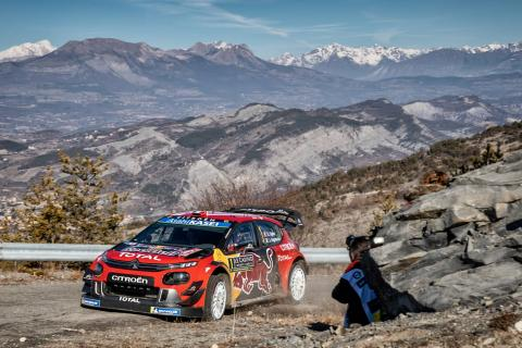 Ogier holds on for tight Rallye Monte-Carlo victory