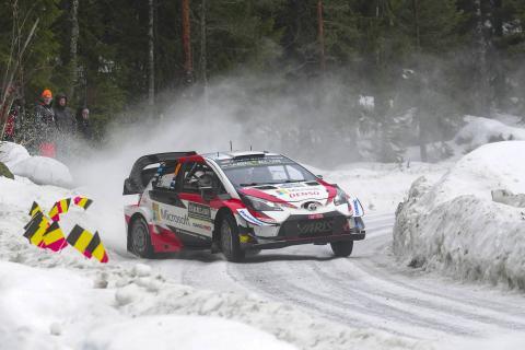 Tanak stretches ahead of Mikkelsen, Lappi
