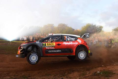 Meeke charges ahead for Citroen in Spain