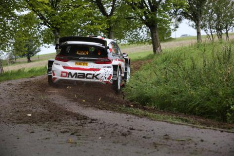 Evans heads up Wales Rally GB shakedown