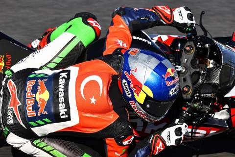 Puccetti Racing duo Phillip Oettl and Can Oncu in action at Misano
