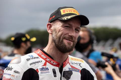 Tom Sykes, Donington Park WorldSBK race 2, 4 July 2021