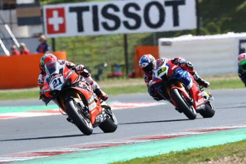 Bautista: So happy about Ducati choice for next year, Rinaldi 'happy' to sign