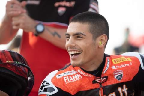 Michael Rinaldi to stay with Aruba.it Ducati for 2022 WorldSBK season