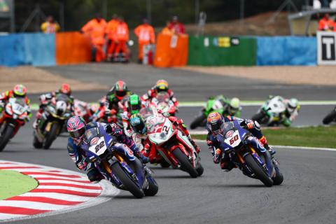 World Superbike makes small free practice schedule change