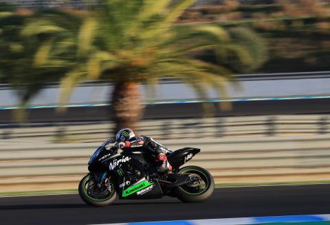 Jerez MotoGP test times - Friday (12pm)