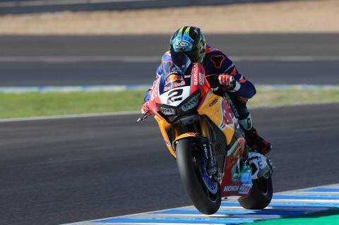 VIDEO: Camier talks Red Bull Honda test debut