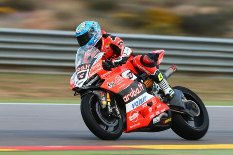 Aragon - Free practice results (2)