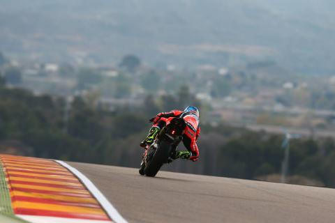 Aragon - Full Superpole qualifying results