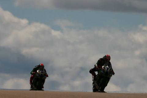 Sykes closes in on Rea in FP2