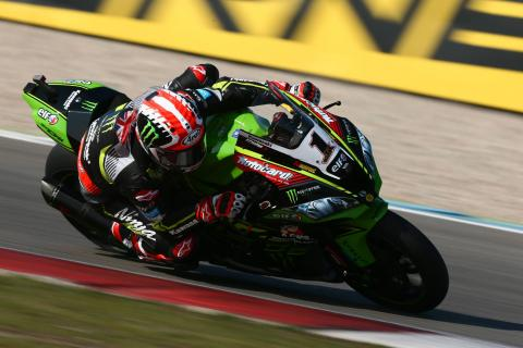 Rea trades top times with Davies