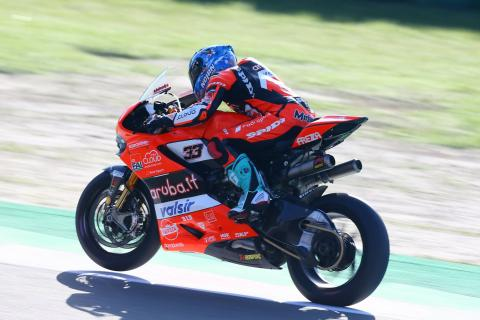 Melandri: Ducati stability improved significantly , not 100%