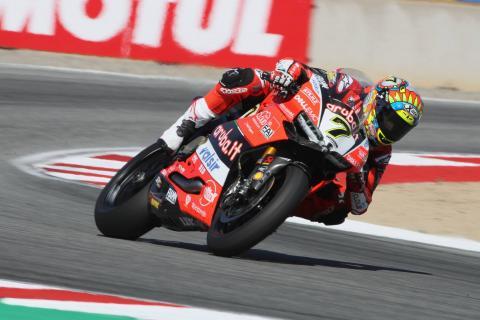 Davies beats Kawasaki pair to Laguna Seca pole