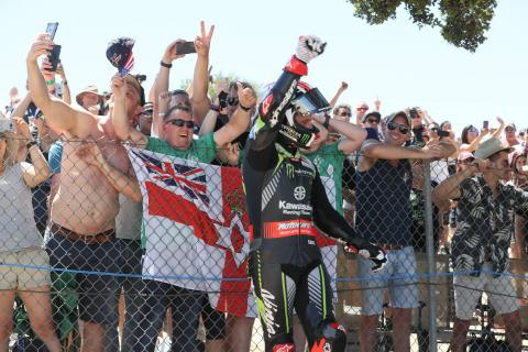 Rea dominates for Laguna Seca double, Laverty podium