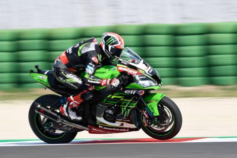 Rea starts fastest as World Superbikes return to action