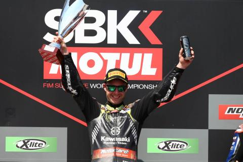 Rea extends winning run to six with Portimao double