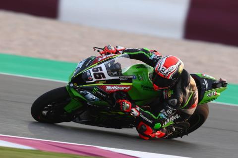 Qatar WorldSBK: Sykes takes pole on Kawasaki farewell
