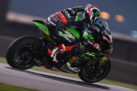 Qatar WorldSBK: Rea ties Polen with race one win