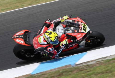Bautista dominates to win on World Superbike debut