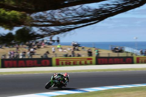 Phillip Island - Warm-up results