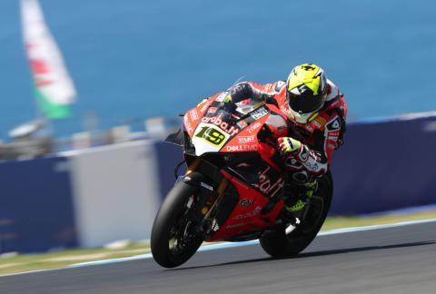 Bautista makes history with World Superbike treble