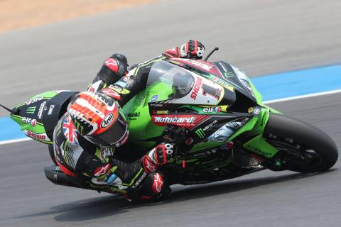 WorldSBK Imola - Free practice results (1)