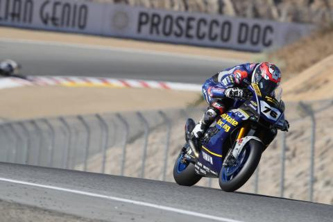 Baz's tyre gamble pays off to cap stellar WorldSBK return