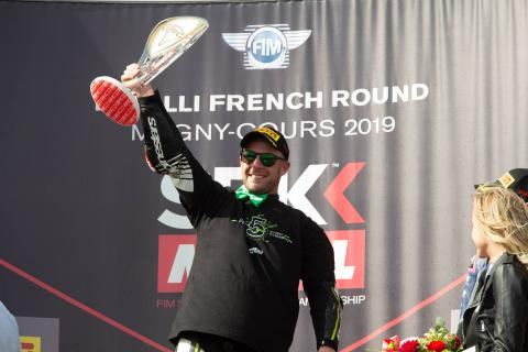 Rea 'relieved to go to Argentina with WorldSBK title done'