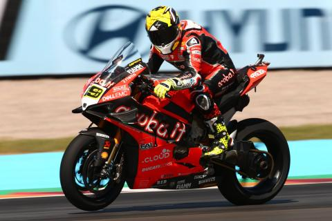 Bautista on pole position in Argentina in slippery conditions