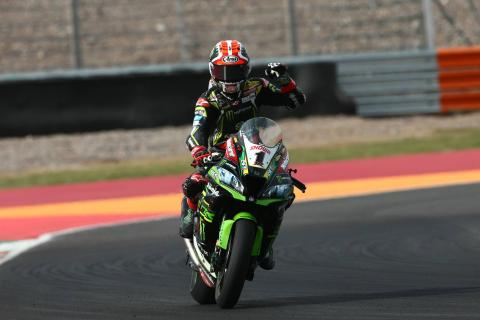 Rea sees off Davies charge in Argentina World Superbike Race 2